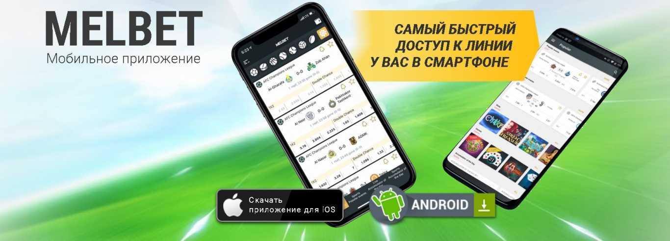 Мелбет мобильное приложение